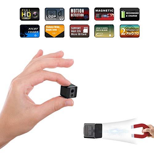 Mini Spy Camera Cop Spy Cam 1080P Spy Camera Wireless Hidden Support 128 gb Card Mini Computer...