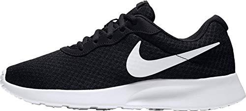 Nike Stretch Rival - Pantalón corto para mujer (10 cm, 46), color negro y blanco
