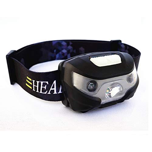 Linterna Frontal 3000lm Mini recargable Led faro Cuerpo sensor de movimiento Usb faro linterna Led cabeza lámpara de luz Camping linterna linterna