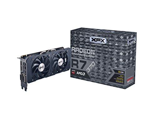 XFX Radeon R7 370 - Double Dissipation Edition - Grafikkarten - Radeon R7 370 - 2GB GDDR5 - PCI Express 3.0 x16 - 2 x DVI, HDMI, DisplayPort (R7-370P-2DF5)