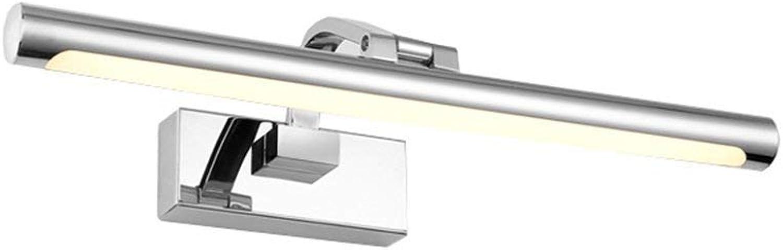 Oudan Badezimmer-LED Spiegel-vorderes Licht-Spiegel-Kabinett beleuchtet Wasserdichte Feuchtigkeit Anti-Fog (Farbe  Warmes Licht-42CM9W) (Farbe   Warm Light-62cm14w)