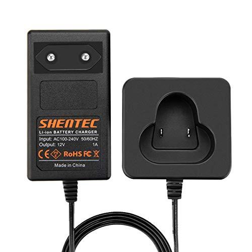 Shentec 10.8V-12V Cargador de batería Compatible con Makita BL1013 BL1014 194550-6 194551-4 195332-9 Baterías de iones de litio de 12V (no para baterías de Ni-MH/Ni-Cd)