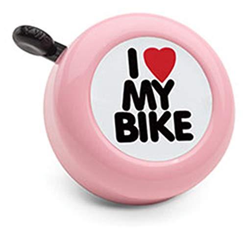 Electra Bicycle Electra Fahrradklingel I Love My Bike, Rosa, 328627