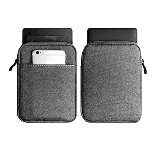 ALEOHALTER 6 inch beschermhoes voor Kindle, beschermende hoes voor Kindle Paperwhite3 voor 558/958/KV e-reader Pouch…