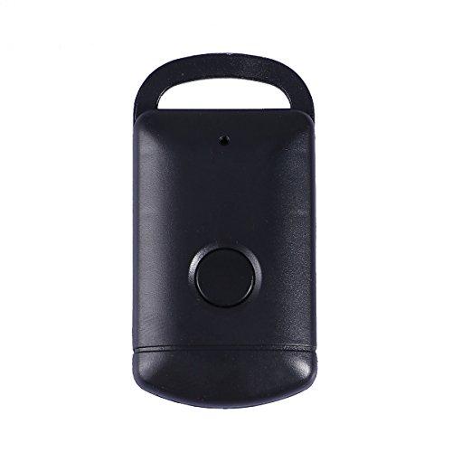 UKCOCO Anti-perdida Buscador Inteligente Localizador GPS Inalámbrica Bluetooth 4.0 Rastreador de Niños, Coche, Personas, Moto, Mascotas, Bicicleta, Perros Negro