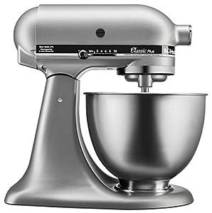 KitchenAid Clic Plus 4.5-qt. Stand Mixer - on pasta with kitchenaid mixer, cookies with kitchenaid mixer, cinnamon rolls with kitchenaid mixer, kitchenaid 9-speed hand mixer, making bread with vitamix, making bread with olive oil, making bread at home,