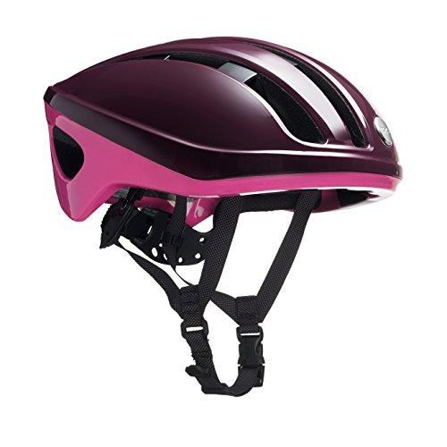 Brooks England Ltd Harrier Helmet Fahrradhelm, Maroon/pink, Gr. M