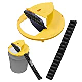 Flipable and Slide Bucket Lid Mouse / Rat Trap Slope Mouse Slide Trap Automatically Resets Humane Trap Door Style, Compatible with 5 Gallon Bucket, Solid Durable Multi Catch Mice Control Traps Flip