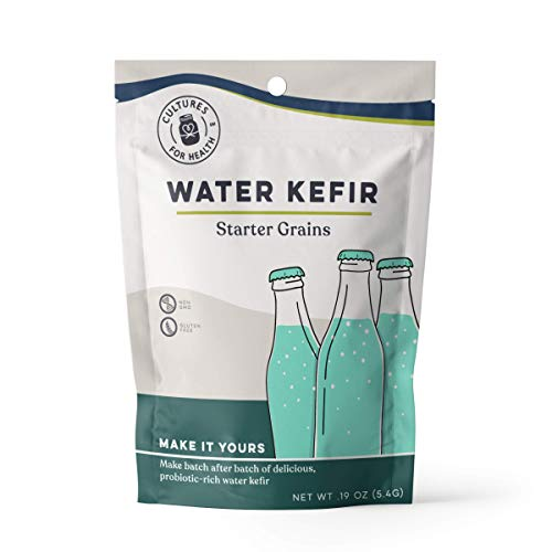 Water Kefir Grains | Cultures for Health | Organic, Gluten Free, Non GMO