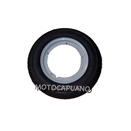 Neumático de goma para cámara de aire llanta rueda 3 00 10 Vespa 125 Primavera