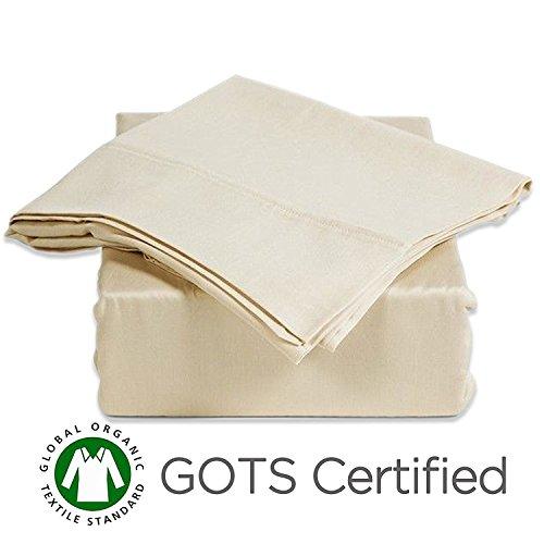 Gotcha Covered American Leather Comfort Sleeper 100% Organic Cotton Sateen Sofa Sleeper Sheet Set - Queen Plus Size