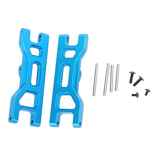 T best Vorderer Querlenker, Aluminiumlegierung Unterer Querlenker Zubehör Geeignet für ECX 2WD 1/10 RC Car(Blau ECX1018B)