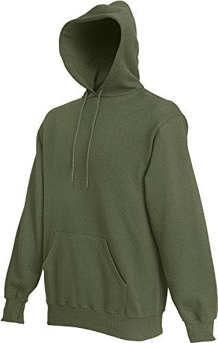 Fruit of the Loom Men's Hoodie Sweatshirt Classic Olive XL