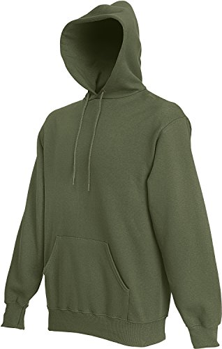 Fruit of the Loom Hooded Sweat Classic Olive - L