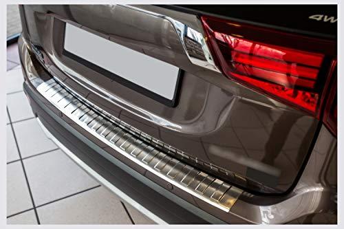 tuning-art BL926 Ladekantenschutz mit Abkantung für Mitsubishi Outlander 3 2015-
