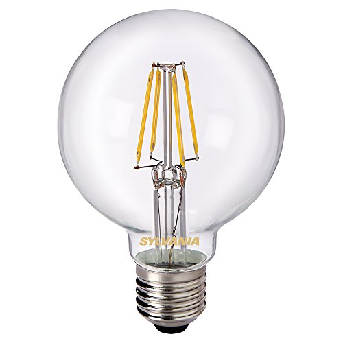 Sylvania Toledo 0027173 G80 Rétro Lampe LED, verre, Home LED, E27, 5 Watts