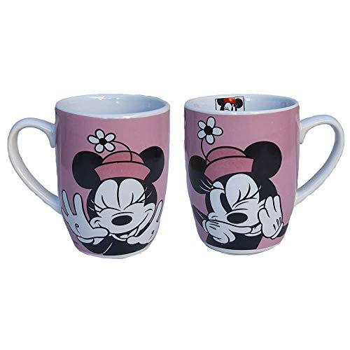 CARTOON GROUP Taza Mug Minnie Mouse Disney cerámica cónica 340 ml con paquete – WD21446/1