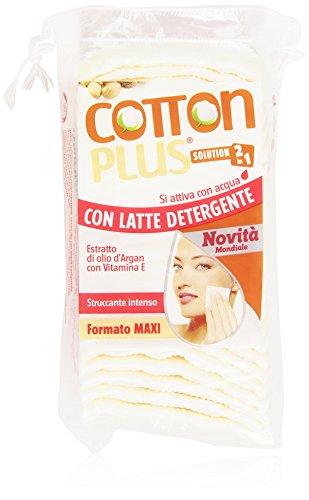 Coton Plus profonde Nettoyant Démaquillant Lait Maxi Pack de 50)