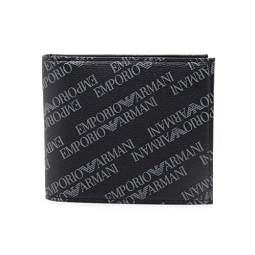 Armani Jeans All Over Wallet in Black One Size