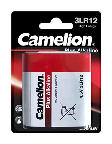 Camelion 11000112 - Batería alcalina, plano, 4.5 V