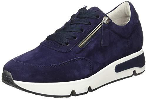Gabor Damen Comfort Basic 46.348 Sneaker, Blau (Bluette (Fb.) 36), 39 EU