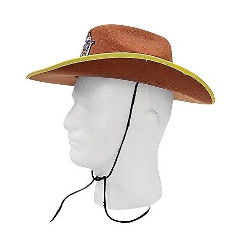 Dress Up America Sheriff-Cowboy-Brown-Hütte