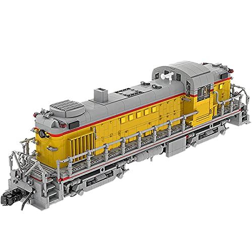 Laytte Niño Edificio Bloque Juguete Creativo Locomotora Diesel eléctrico Tren Transporte Modelo...