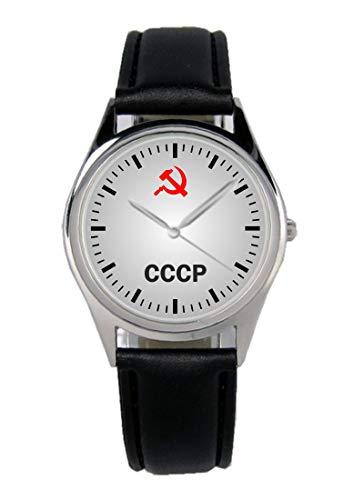 CCCP UDSSR Wappen Geschenk Artikel Idee Fan Uhr B-1152