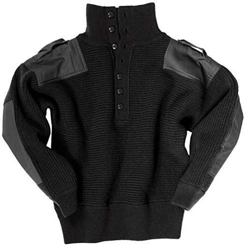 Mil-Tec OESTERR Alpine Sweater Wool Black