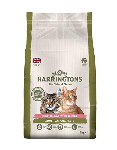 Harrington's Katzenfutter, komplettfutter, Huhn mit Reis, 2kg 4er Pack (2x4 kg)