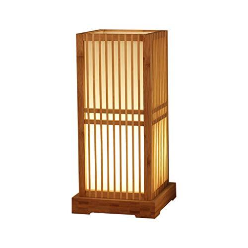 Lámpara de pie, lámpara de Mesa, iluminación, Tejido a Mano, artesanales y Linterna de la luz de Poste de pie, 16 Pulgadas for dormitorios, Sala y la Oficina Lámparas de pie