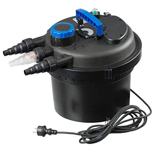 Ubbink Teichfilter 9W Wasserfilter Teich Druckfilter Gartenteichfilter Filter