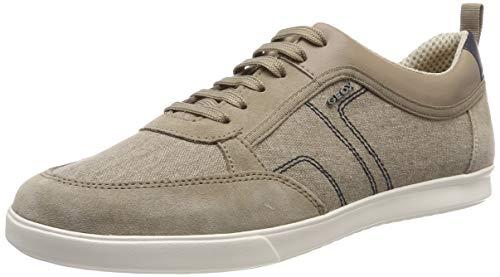 Geox Herren U Walee A Sneaker, Beige (Sand C5004), 44 EU