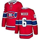 WANGT Camisetas De Hockey sobre Hielo, Equipo De Montreal # 15 KOTKANIEMI # 31 Precio # 92 Drouin # 6 Hombres Jersey De Hockey Bordado Sudaderas para Mujeres,6,S