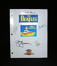 The BEATLES Yellow Submarine Animated Feature Film Movie Script With Facsimile Beatles Signatures