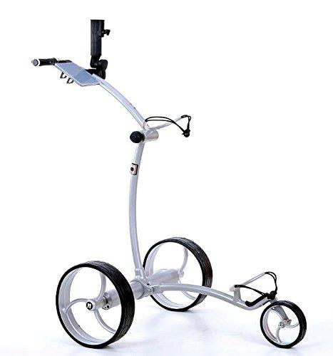 Tour Made rT 630LI lithium-chariot de golf électrique avec frein moteur Argent