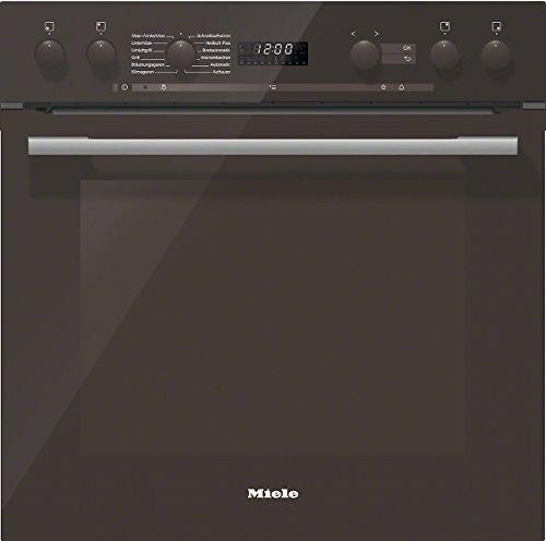 Miele H6167E Herd Elektro / 55,4 cm / 7-Segment Display mit Knebel-Steuerung Easycontrol / Perfektionierung Back- und Bratergebnisse, Klimagaren / Brillantweiß