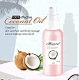 PANSLY 100% Effective Coconut Oil Multipurpose Great For Skin Care Hair Care Body Massage And Natural Makeup Removal Oil, 50ml