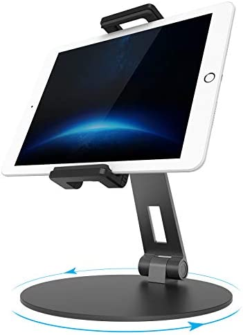 UPERGO Tablet Stand Adjustable Swivel iPad Stand Mount for 4 7 13 Phones Fire Tablet Samsung product image