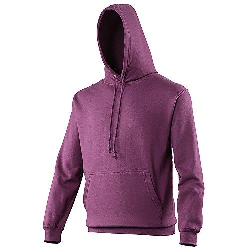 Anvil - Sweatshirt à capuche - Adulte unisexe (S) (Prune)