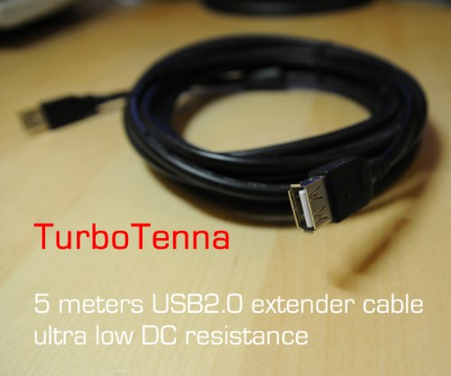 5 meter Ultra-Low DC Resistance Loss USB Extender Kabel voor WiFi USB-Yagi Antenne