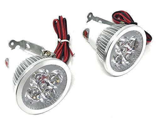 Motorfiets Cree LED koplampen paar zeer helder 12V hoogwaardig voor alle motorfiets, quads, Atv en trikes