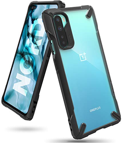 Ringke Fusion X Case Designed for OnePlus Nord (2020)- Black