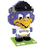 FOCO MLB Colorado Rockies 3D BRXLZ - Mascot- Dinger
