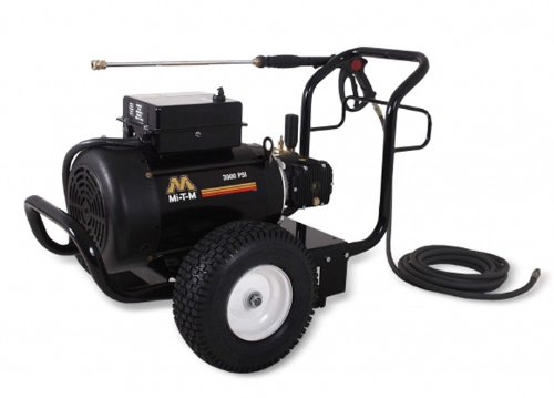 Mi-T-M JP-3004-1ME1 JP Series Cold Water Electric Direct Drive, 8.0 HP Motor, 230V, 34.5A, 3000 PSI Pressure Washer