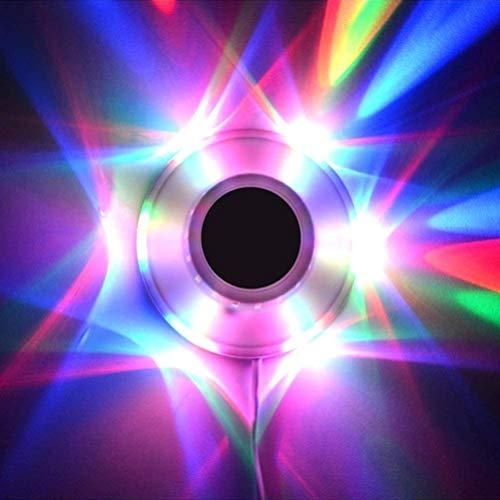 Wopohy LED Bühnenbeleuchtung Sunflower Buntes Bühnenlicht LED Party Lichteffekte für Bar Weihnachten Party Show