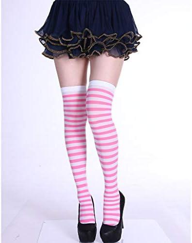 En coton Couleur unie GREEN/&RARE Chaussettes longues /à cinq doigts pour femme Doux et respirant Orteils s/épar/és