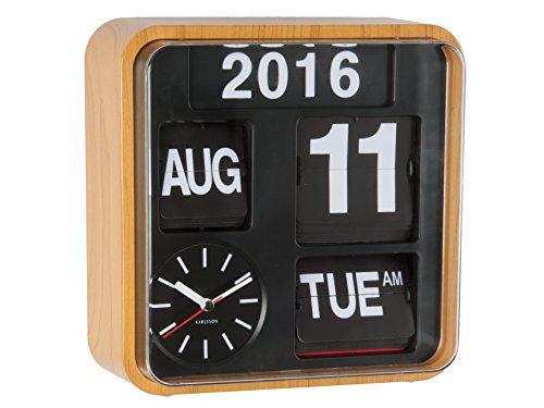 Karlsson - Orologio da parete con calendario a palette Wood