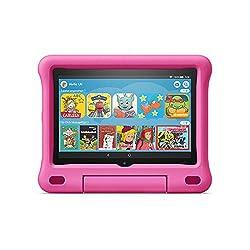 Das neue Fire HD 8 Kids Edition-Tablet, 8-Zoll-HD-Display, 32 GB, pinke kindgerechte Hülle