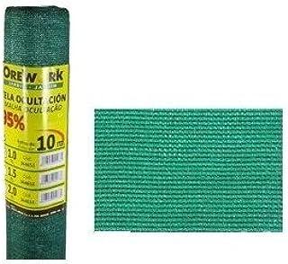 comprar comparacion Malla ocultacion verde 95% 1x50mt Orework